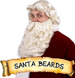 Santa Beards and Wigs