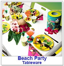 Hawaiian / Beach Party Tableware
