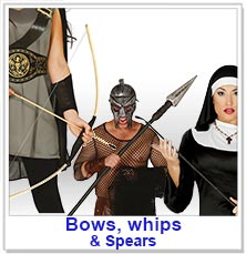 Bows, Whips & Spears
