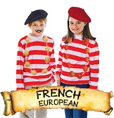 French Costumes & Accessories