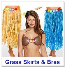 Grass Skirts & Bras