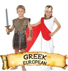 Greek Costumes & Accessories