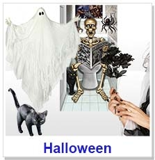 Hallowe'en Accessories & Decorations