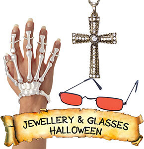 Halloween Jewellery & Glasses
