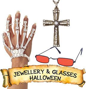 Halloween Jewellery & Glasses