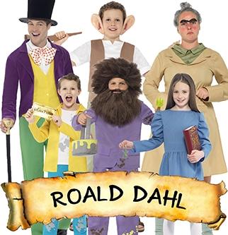 Roald Dahl Day costumes