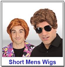 Short Mens Wigs