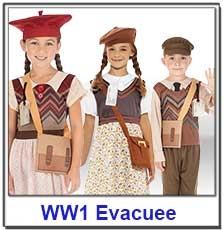 WW1 Evacuee Costumes