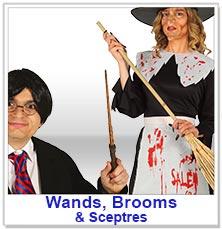 Wands Brooms & Sceptres
