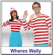 Where's Wally Teacher Costumes