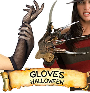 Halloween Gloves & Shoe Accessories