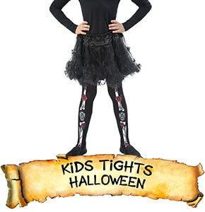 Halloween Kids Tights