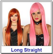 Long Straight Ladies Wigs