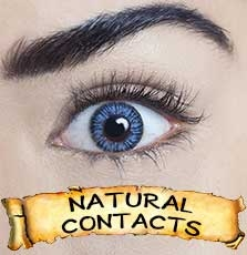 great value halloween natural coloured contact lens