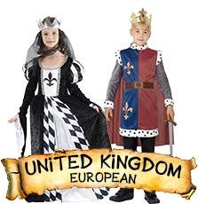United kingdom Costumes & Accessories