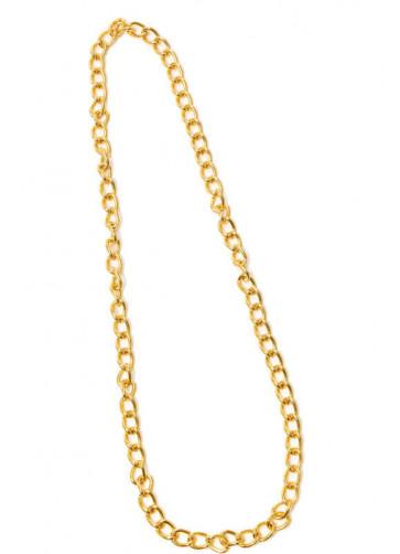Long Gold Chain Necklace - 100cm