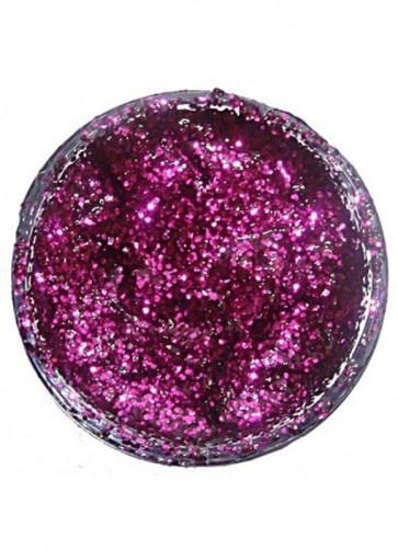 Snazaroo Glitter Gel 12ml Pot Fuchsia Pink