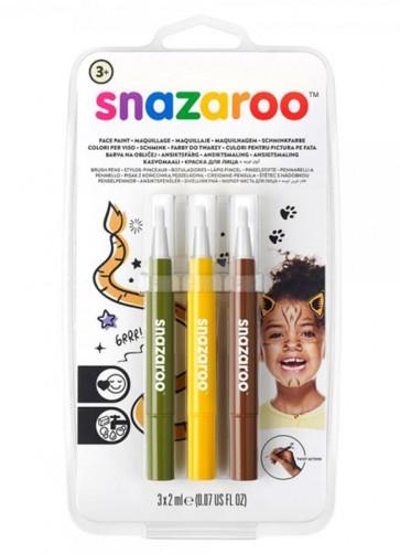 Snazaroo Brush Pen Set - Jungle