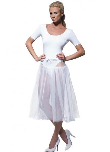 1950's White Petticoat - 75cm