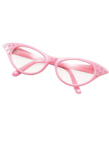 50s Pink Poodle Glasses