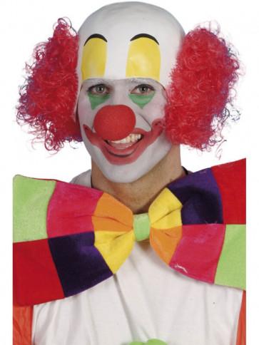 Clown Head And Red Hair