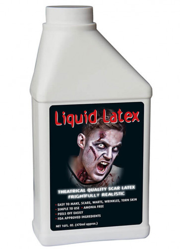 Liquid Latex Pint (aprox. 470ml)