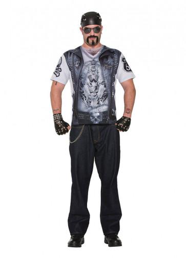 3D Instant Biker Dude T-shirt