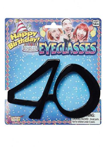 Birthday Glasses - 40th Birthday