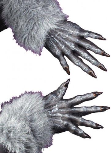 Werewolf Gloves - Grey