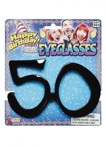 Birthday Glasses - 50th Birthday
