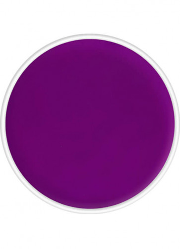 Kryolan UV-Day Glow Aquacolor Make-Up Body Paint - Purple 4ml