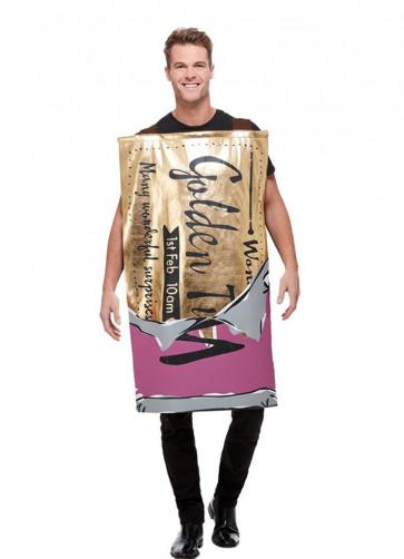 Winning Wonka Bar Costume - Roald Dahl - Charlie and the Chocolate Factory