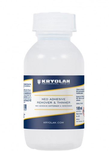 Kryolan NEO Adhesive Remover & Thinner 100ml