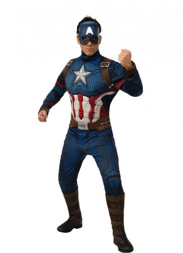 Deluxe Captain America – Marvel - Avengers Endgame Adult Costume