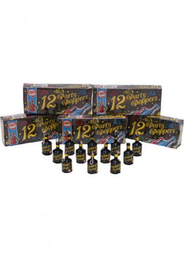72 Party Poppers