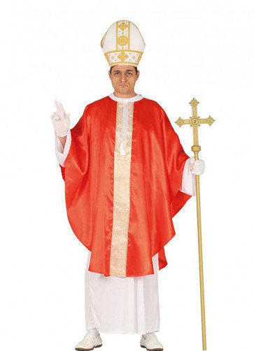 Red Pope Costume