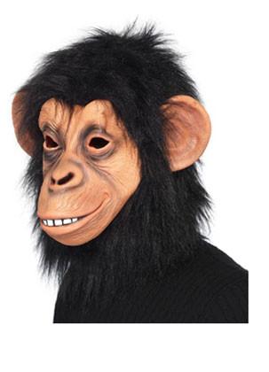 Chimp Rubber Mask - Teeth