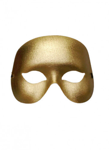 Cocktail Eye Mask Gold