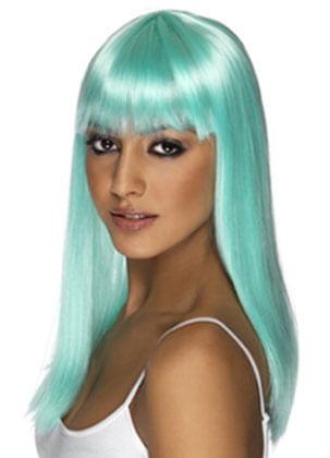 Glamourama Wig - Aqua Blue