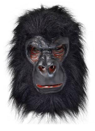 Gorilla Rubber Mask