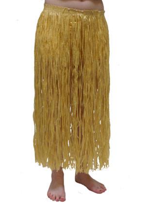 Hawaiian Grass Skirt Long Plain