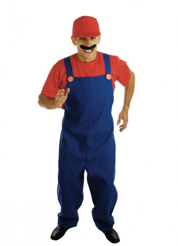 Mario (Plumber's Mate Red) Costume