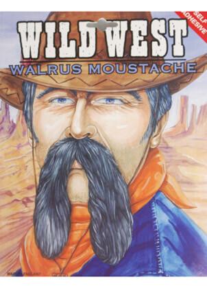 Walrus Moustache Black Large