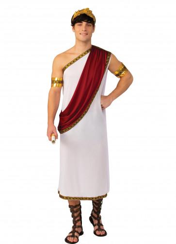 Caesar Toga - Red Drape