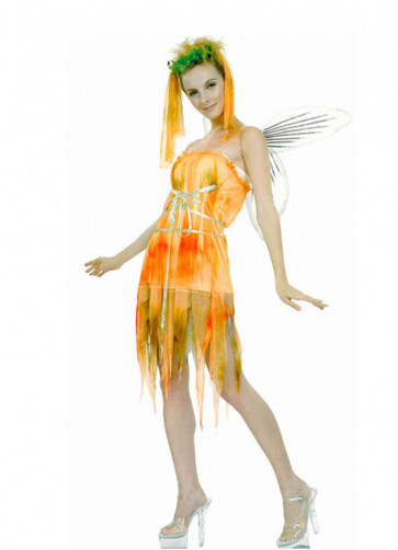 Orange Pixie Costume