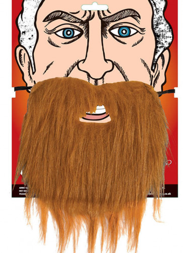 Ginger Beard Elasticated