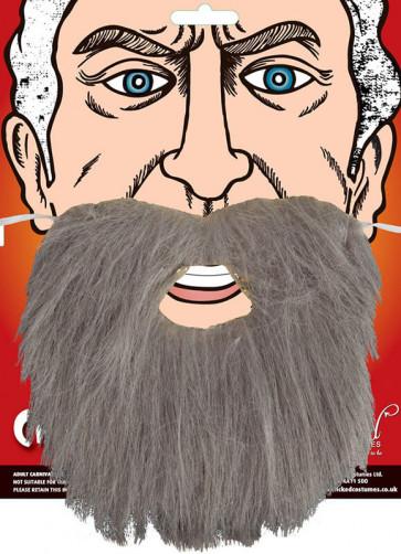 Grey Beard Elasticated