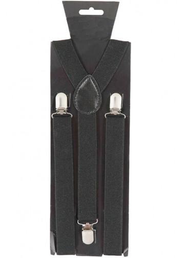 Black Trouser Braces