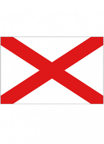 United States - Alabama Flag - US State 5x3