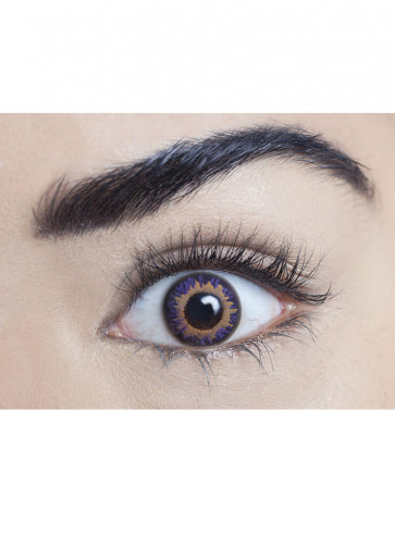 Amethyst Coloured Contact Lenses - One Day Wear